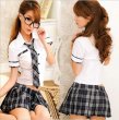 Hot COSPLAY student uniforms Sexy lingerie women costumes Sex Products toy Sexy