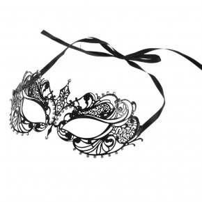 FESTNIGHT 1PCS Black Women Sexy Eye Mask Party Mask For Masquerade Halloween Venetia