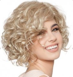 Cosy Curly Synthetic Medium Wigs