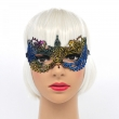 Mysterious Angel Lace Mask Halloween Party Sexy Mask Lace Mask Masquerade Mask gold