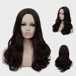 !!! New 45cm Wonder Woman Super Hero Cosplay Party Wig Dark Brown Ladies Women Hair
