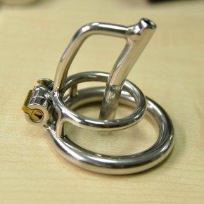 Male CB chastity device CB belt stainless steel metal catheter penis lock chastit