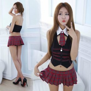 METERNIS new cosplay youth student uniforms Sexy lingerie women costumes Sex Product