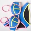 QSYCN 2016 Women's New Sexy Bikini Swimsuit Set Swimwear Bath Suit Bathsuit Push
