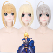 Saber Arturia Pendragon Cosplay Wig of Fate Costume Play Wigs Halloween Costumes Hair