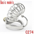 Latest Design Basic models Steel chastity belt stainless steel penis lock chastit