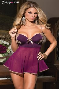 purple sexy underwear for women