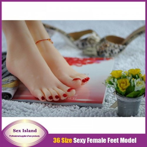 Solid silicone pussy adult sex supplies imitation women sexy Feet Foot Fetish Feet