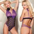 Velvet Penetrating Plaid Bodysuit