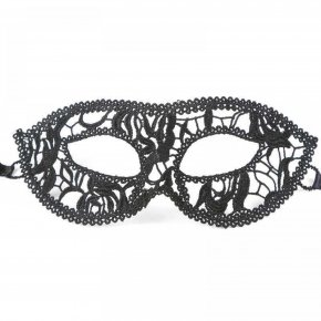 5Pcs Beautiful Female Black Lace Mask Festival Dance Party Prom Cosplay Queen Prince