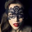 20Pcs Sexy Fancy Lace Black Mask Masquerade Ball Prom Halloween Costume Female Mask