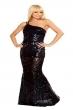 sexy black prom dress