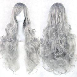20 Colors 80 cm Long Wavy Cosplay Wigs Women Resistant Cosplay Hair
