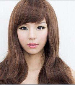 Wigs for silicone loli doll