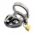 Lastest design Super Stainless Steel Male Chastity Belt Adult Cock Cage With arc