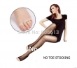 Top Quality PANTYHOSE Open No TOE Luxury Silk Stockings Sheer Tights Toeless, 2