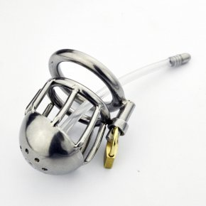 Stainless Steel Male Chastity Belt Super Small Cage Steel Cock Cage Chastity Device
