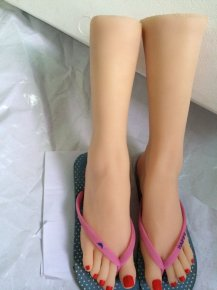 Lifelike Full life size Japanese real silicone feet legs foot fetish love doll solid