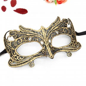 PF Sexy Lace Masks Fancy Dress Costume Mask for Parties Halloween Masquerade Carniva