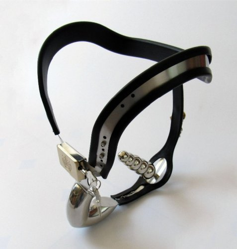 Most comfortable strap on pants male chastity belt device,stainless steel chastit