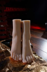 High quality Full silicone sex doll woman shoe mold silicone feet model size 38