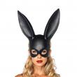 Halloween Party Women Girls Cosplay Rabbit Ears Mask Sexy Bondage Bunny Long Ears
