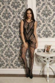 black mesh underwear