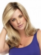 2015 Long Wavy Blonde U Part Wig Synthetic Hair Wigs For Women Natural Hairline