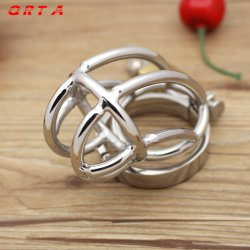 Big Chastity Belt Male Chastity device Stainless Steel cock Cage Sex Toys for men