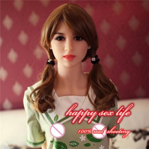 2016 New Real 153cm Lifelike full size solid inflatable silicone vagina oral sex