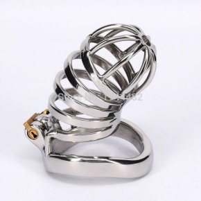 Stainless Steel Male Chastity Belt Bondage Toys Metal Removable Cock Devices For