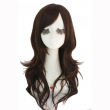 L-email Fashion Women Cute Lady Wig 60cm/24inches Synthetic Wigs Hair Mixed Beige