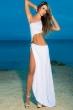 white dew waist of the dress