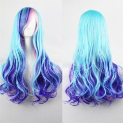 2017 Cheapest halloween wigs women hair naruto cosplay ombre two tone wig synthetic