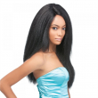 New Yaki African American Full Synthetic Hair Wigs Best Glueless Kinky Straight