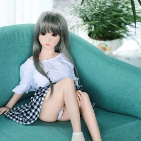 100cm Small girl silicone love doll with free shipping