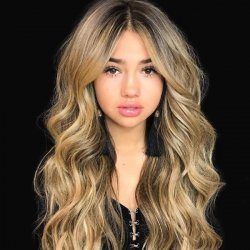 Blonde Wavy Heat Friendly Synthetic Easeful Long Wigs