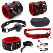 7piece/Set Leather Sex Toy for Couples Adult Games sexy Toy Sex products bd Bondage