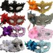 Flower Halloween mask sexy masquerade masks Dance Party Bar Princess Venice Mask
