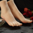 Exclusive female foot model simulation real realistic skin texture silicone feet