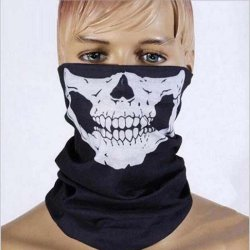 Halloween Mask Sexy Scary Skull Horror Skeleton Ghost Mask Motorcycle Bicycle Scarf