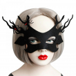 Sexy Elegant Halloween Spider Eye Face Mask Masquerade Ball Carnival Fancy Part