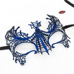 PF Big Spider Sexy Mask for Carnival Halloween Upper Half Face Venetian Masks for