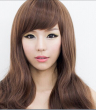 Wigs for silicone loli doll