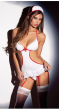 Women Sexy Lingerie Hot Erotic Costumes Role Play Nurse Uniform Erotic Lingerie Sex Products Underwear (Not Including Socks)