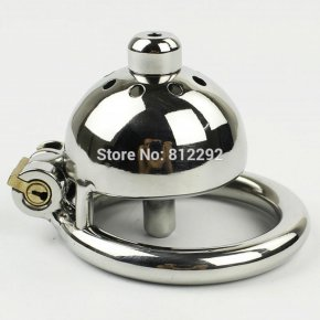 New Super Small Male Chastity Device 35MM Adult Cock Cage With Urethral Catheter
