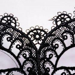 1PCS Hot Sales Black Sexy Lady Lace Mask Cutout Eye Mask For Masquerade Party Fanc