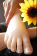 Boston Girl sexy feet doll