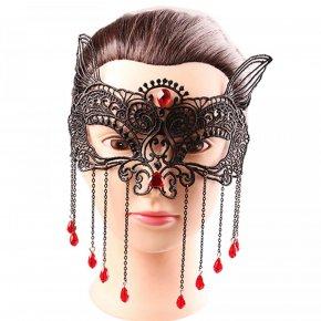 Sexy Elegant Eye Face Mask Masquerade Ball Fancy Party mascaras de latex realista