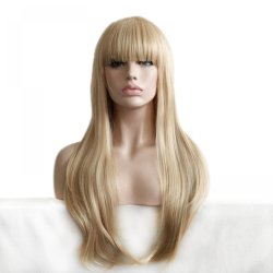 high quality blond wig hair resistant cheap lifelike party ladies wigs curly long